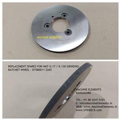RATCHET WHEEL D7580011 Z- 265