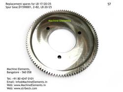 Spur Gear, D1590001, Z=82