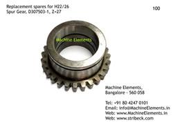 Spur Gear, D307503-1, Z=27