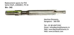 Spline Shaft, A3026823