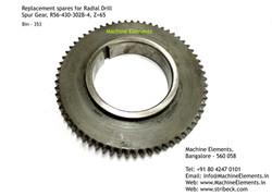 Spur Gear, R56-430-302B-4, Z=65