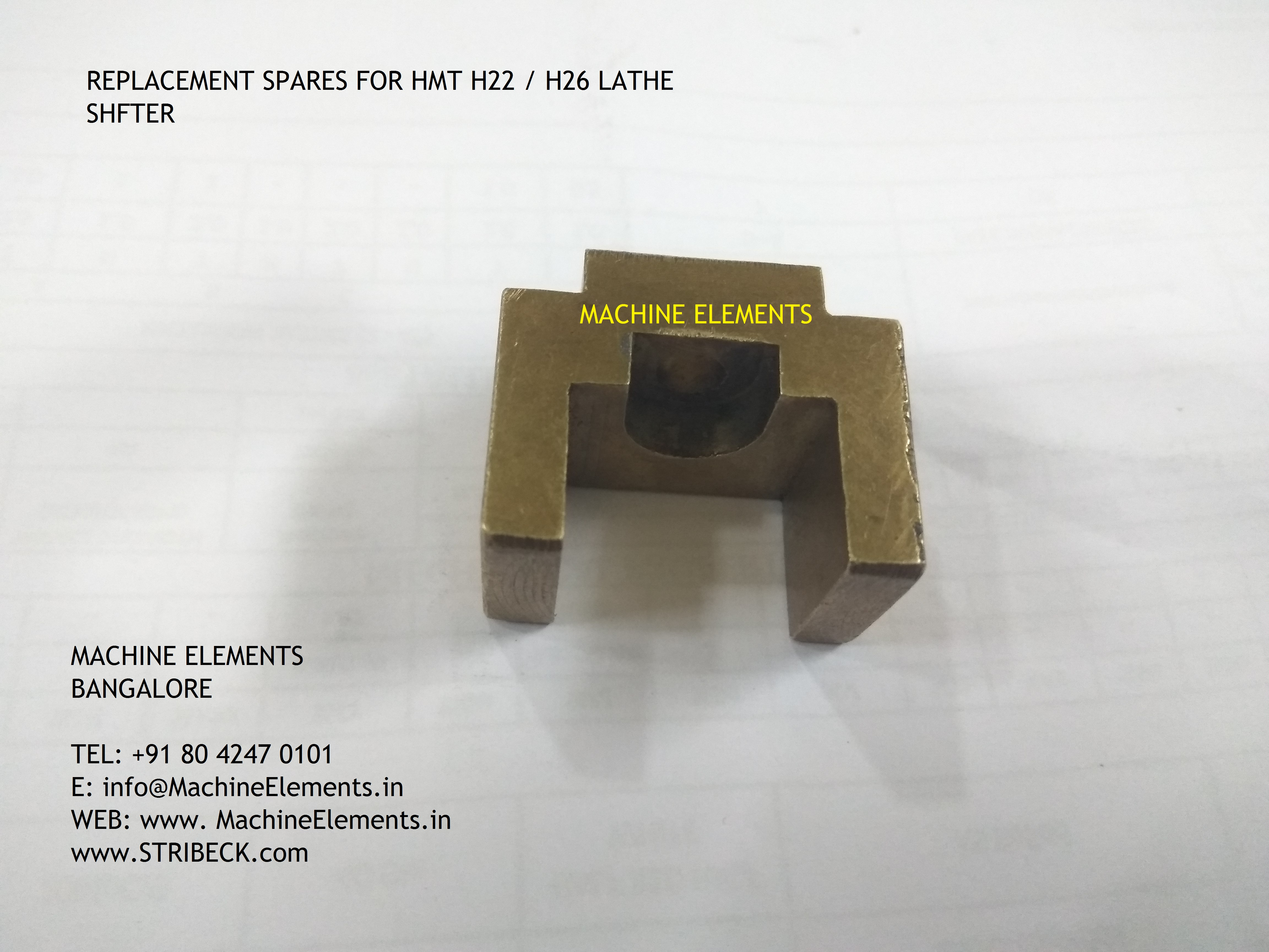 H22-H26 LATHE -SHIFTER