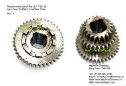 Spur Gear, D537601, Feed Box Drive