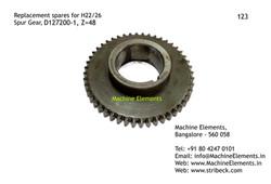 Spur Gear, D127200-1, Z=48