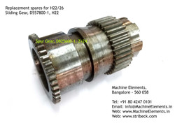 Sliding Gear, D557800-1, H22
