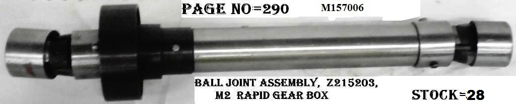 BALL JOINT ASSEMBLY - M157006