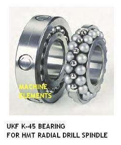UKF K45 spindle bearing