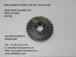 SPUR GEAR D2362883 Z29