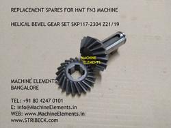 HELICAL BEVEL GEAR SKP117-2304 Z-21+19