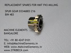 SPUR GEAR D3346803 Z16