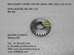 SPUR GEAR R56-450-300-4 z27 BIN 456