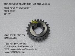 Spur gear D2354853 z22