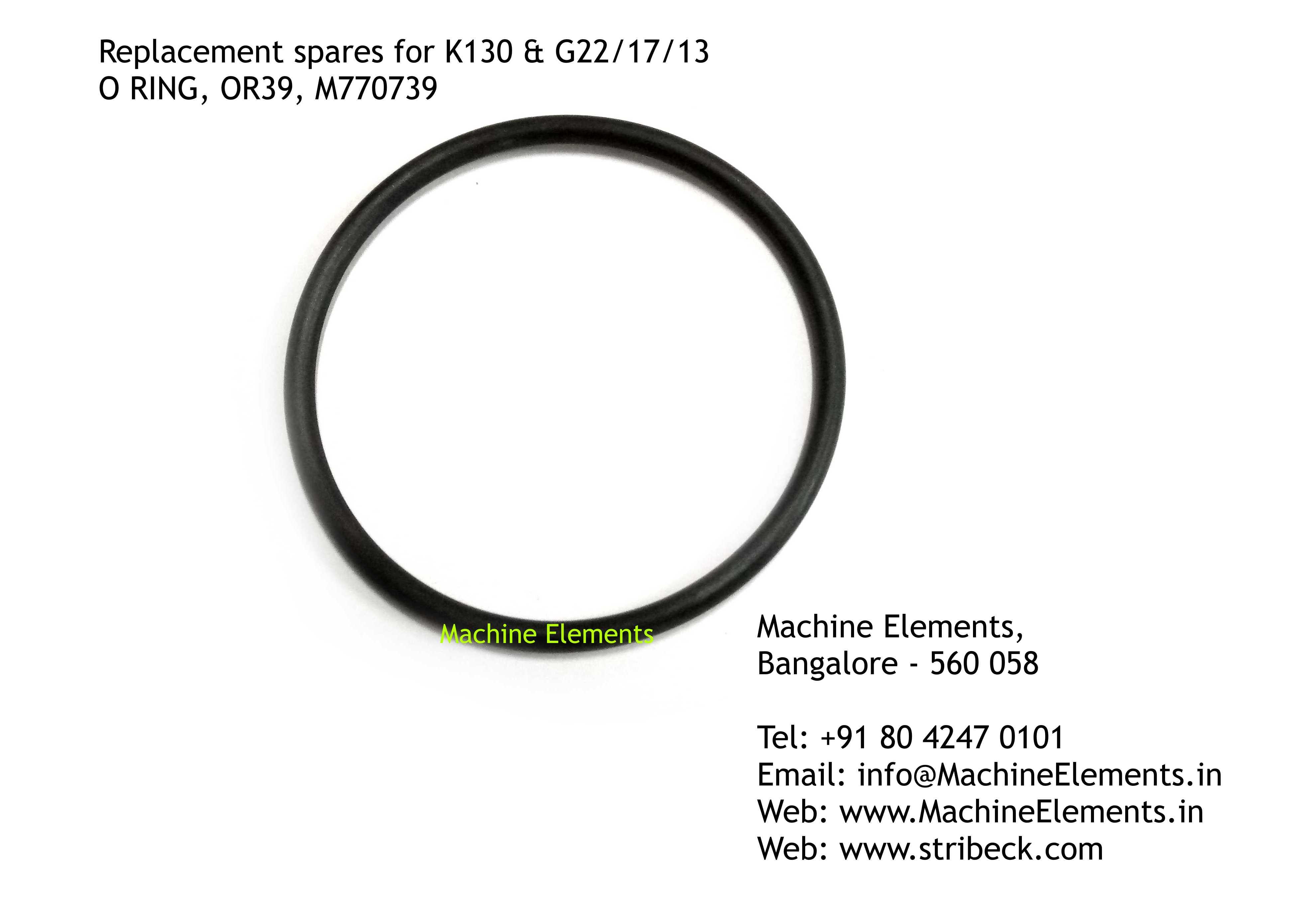O RING, OR39, M770739