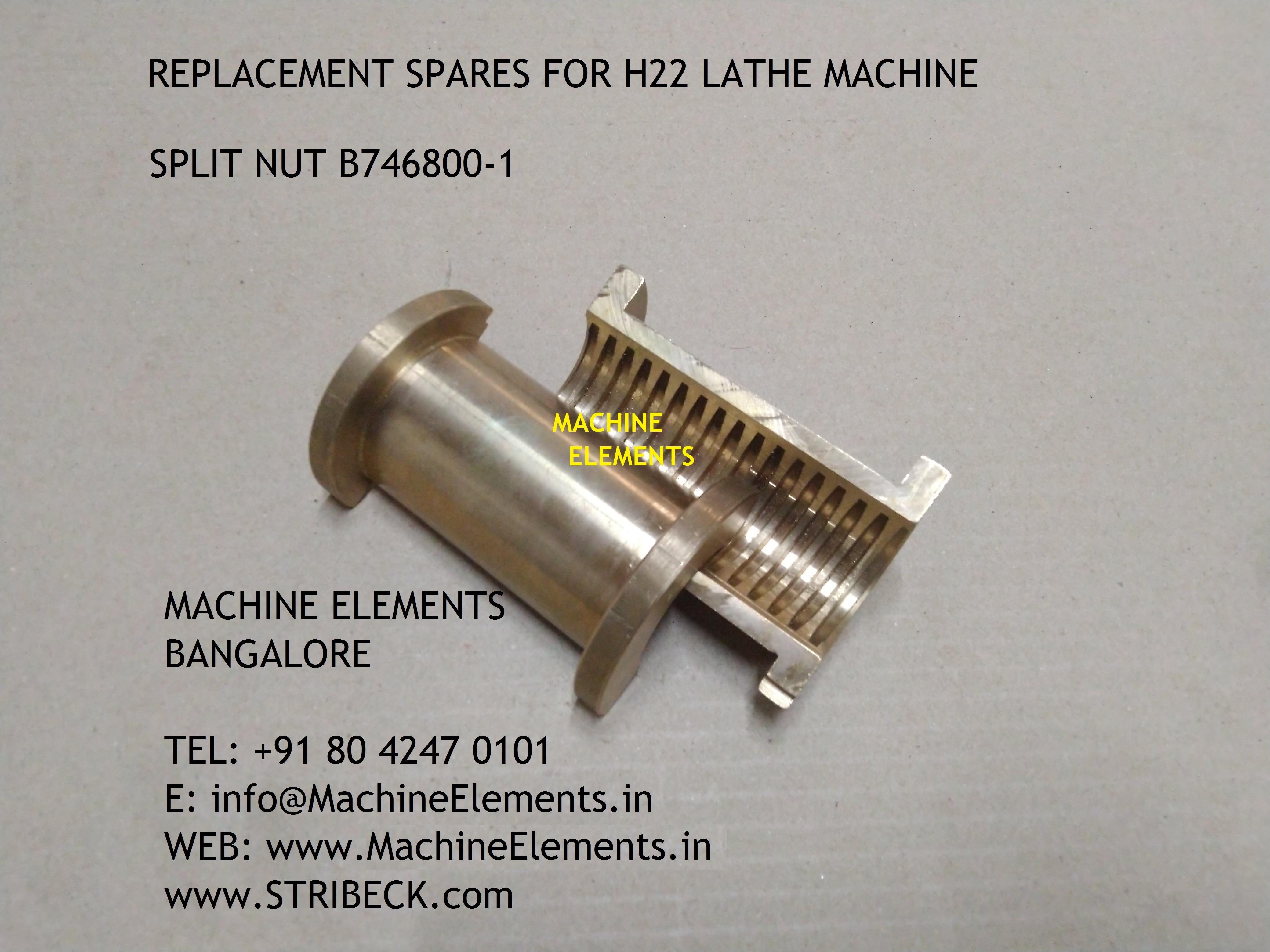 SPLIT NUT B746800-1