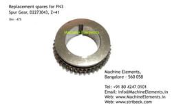 Spur Gear, D2273043, Z=41