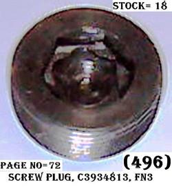 C3934813-SCREW PLUG