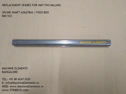 A3627843 SPLINE SHAFT
