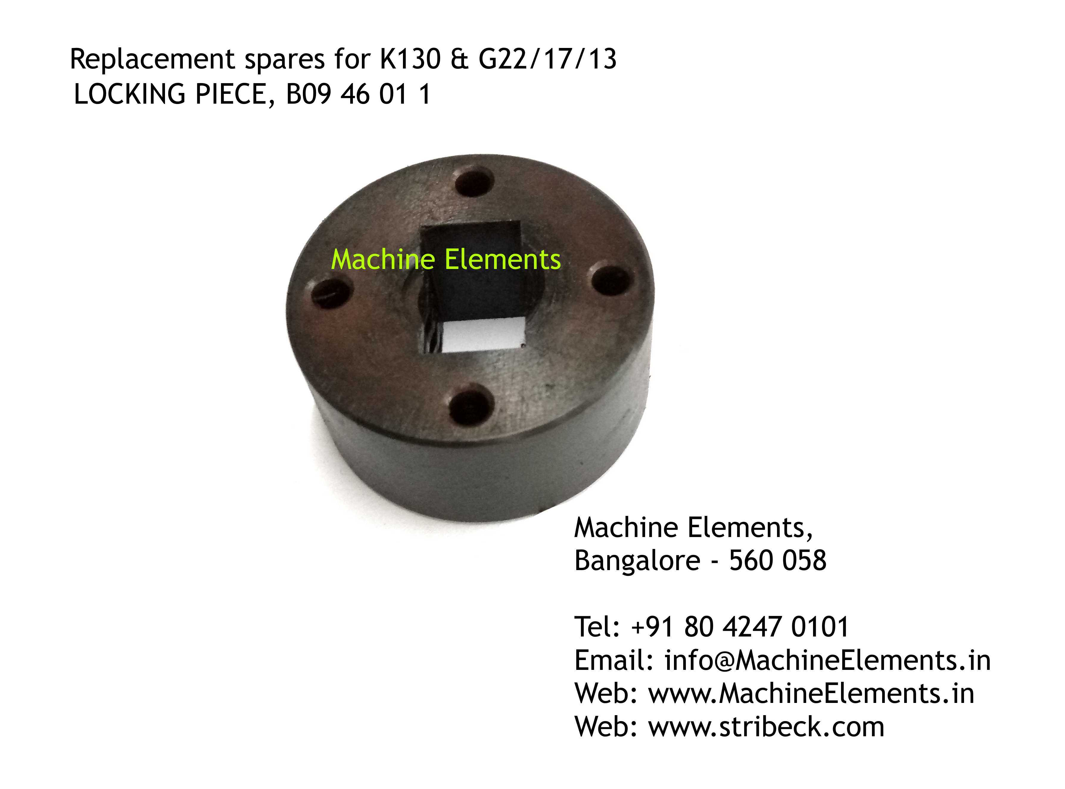 B9046011 LOCKING PIECE