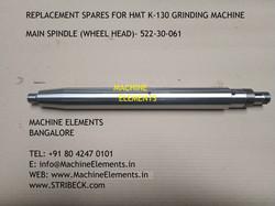MAIN SPINDLE (WHEEL HEAD) - 522-30-061