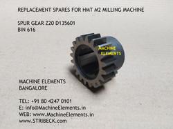 SPUR GEAR Z20 D135601 BIN 616