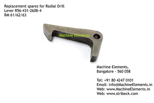 Clutch Lever for HMT Radial Drill R56-431-260B-4 (pack of 4)