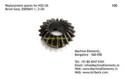 Bevel Gear, E005601-1, Z=20