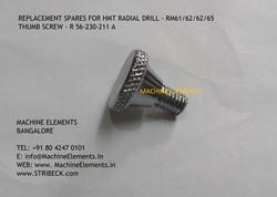 THUMB SCREW R56-230-211 A