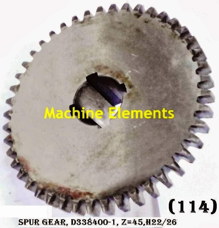 D338400-1 SPUR GEAR Z-45