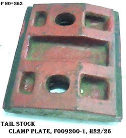 F009200-1 TAILSTOCK CLAMP PLATE