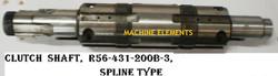 R56-431-200B-3 CLUTCH SHAFT - SPLINE TYP