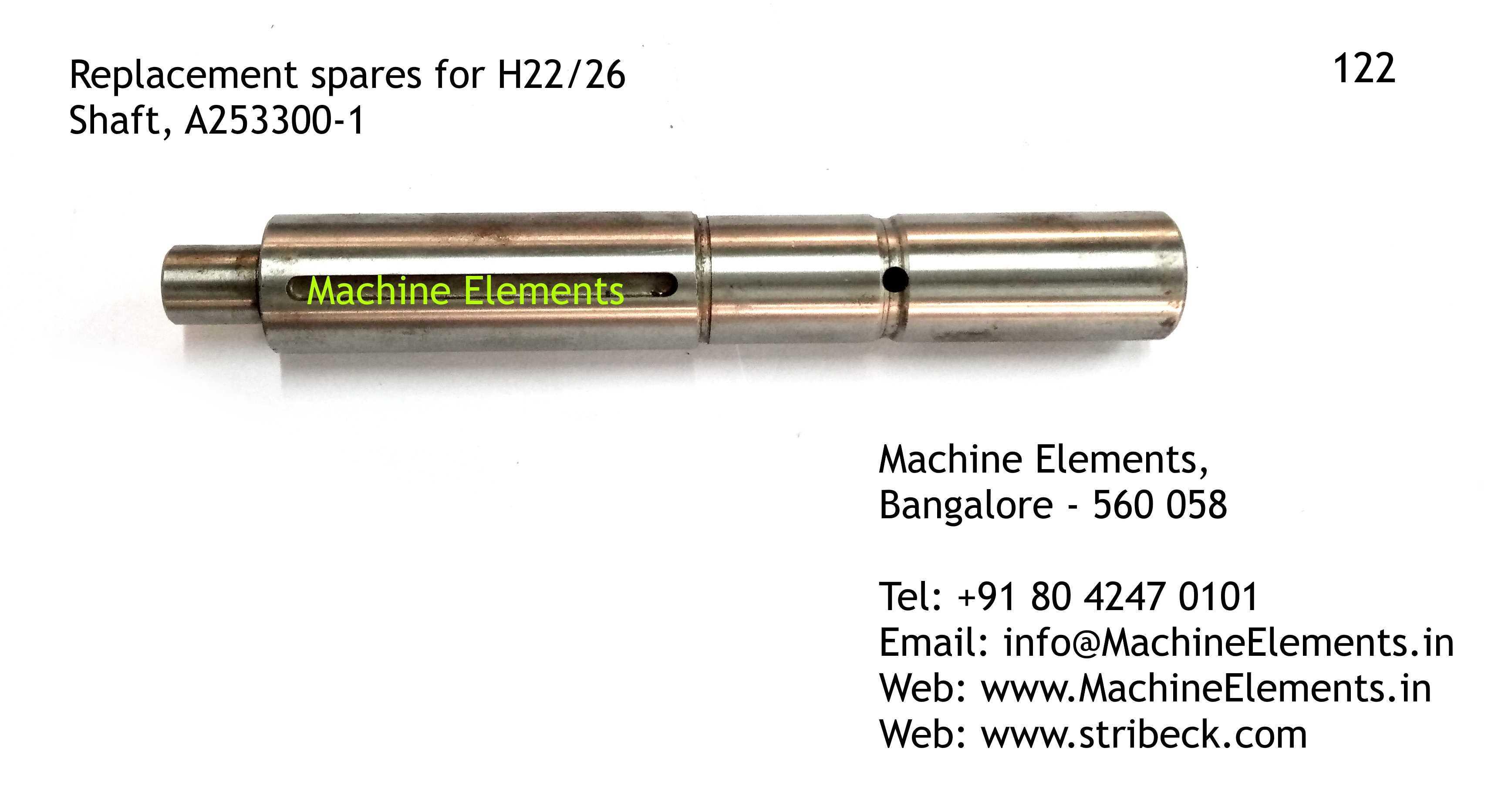 Shaft, A253300-1