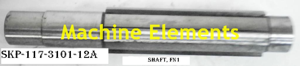SKP-117-3101-12A  SHAFT