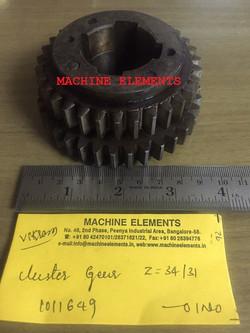 1011649   Z34 & 31 VIKRAM - CLUSTER GEAR