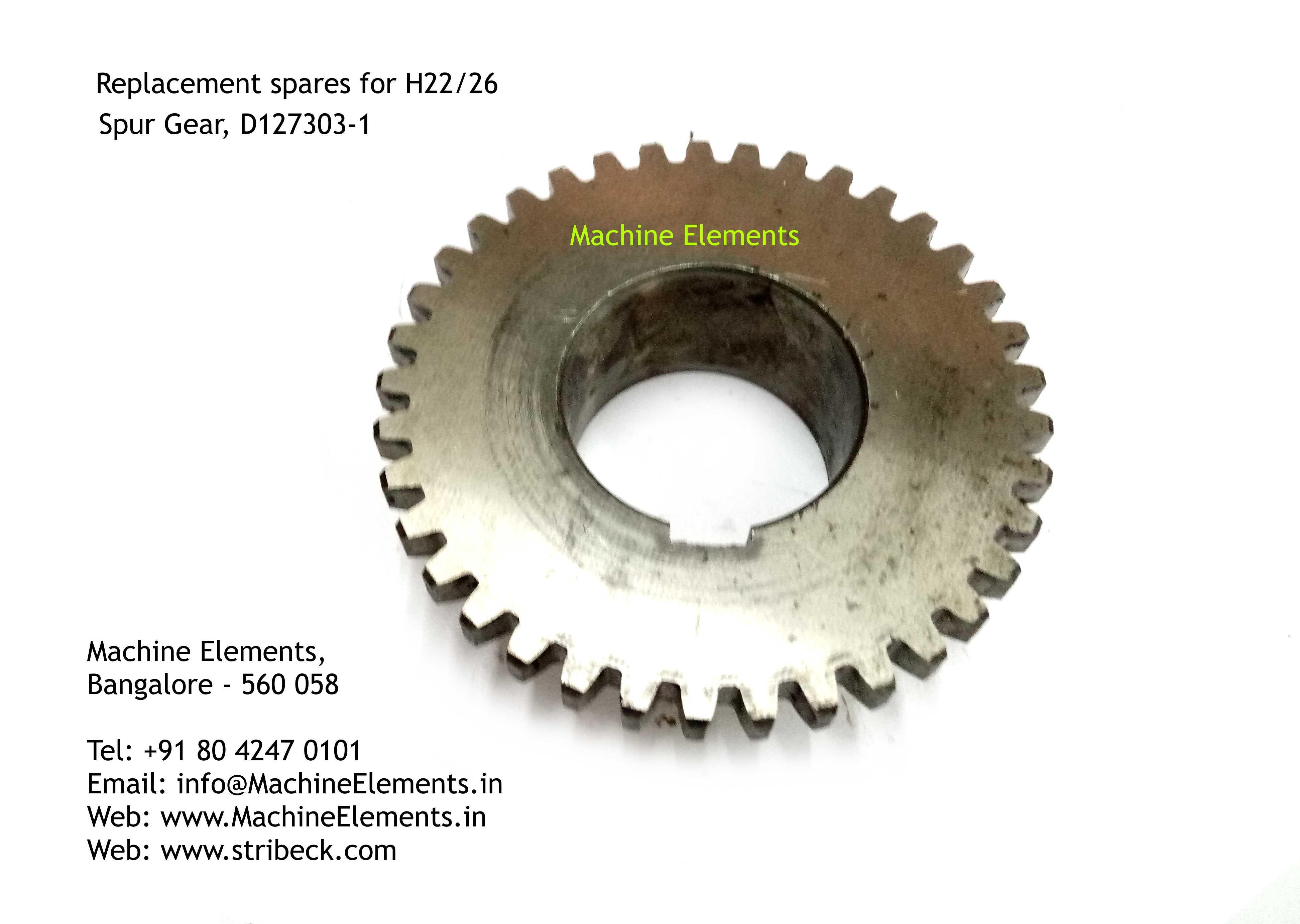 Spur Gear, D127303-1