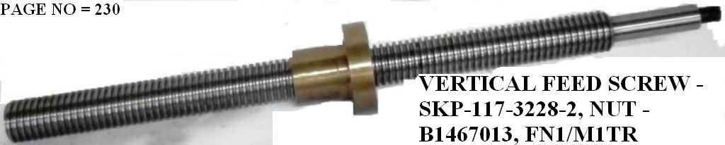 A5637853- VERTICAL SCREW & NUT