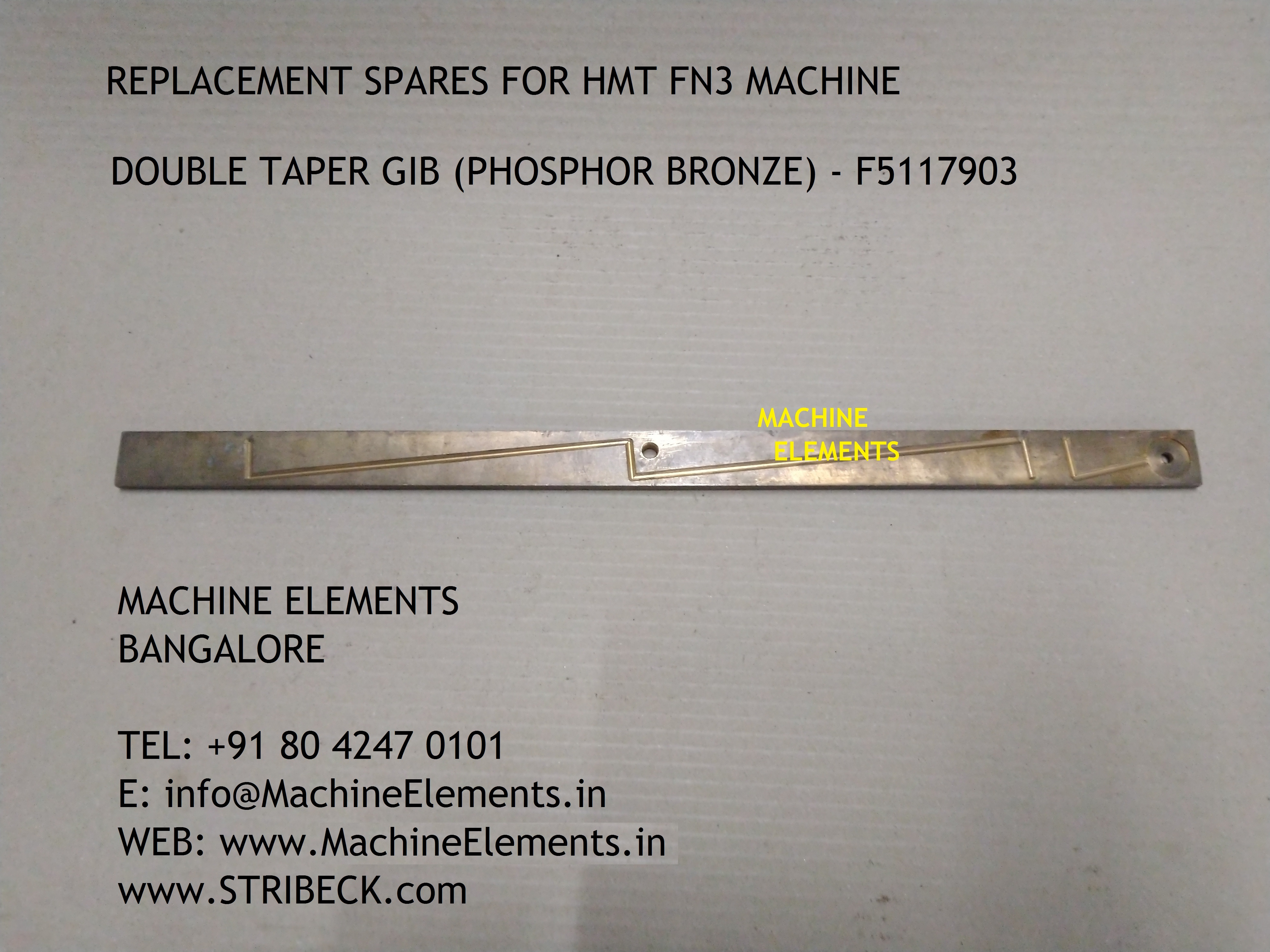 DOUBLE TAPER GIB (PB) - F5117903