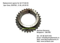 Spur Gear, D307501, Z=30