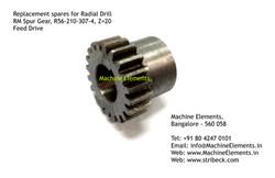 RM Spur Gear, R56-210-307-4, Z=20, Feed