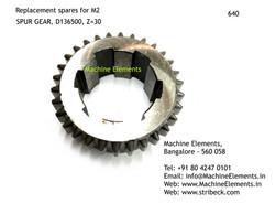 SPUR GEAR, D136500, Z=30
