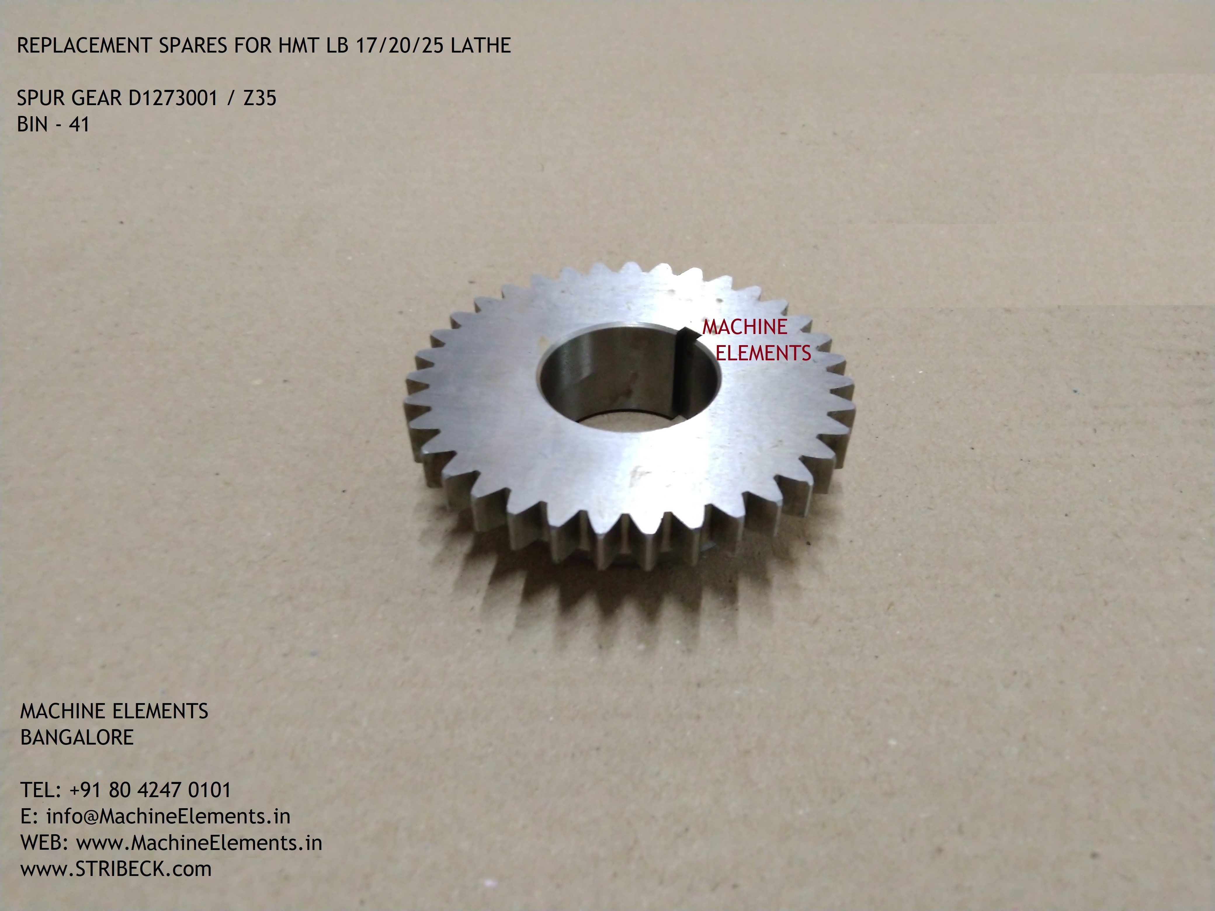 D1273001 Z35 SPUR GEAR