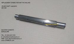 SPLINE SHAFT A3625073