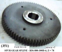 R56-880-300D-4,, Z78 SPUR GEAR