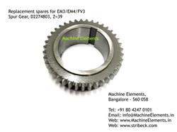 Spur Gear, D2274803, Z=39