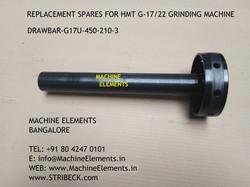DRAWBAR - G17U-450-210-3