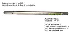 Spline Shaft, A3637813