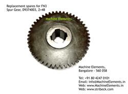 Spur Gear, D9374003, Z=48
