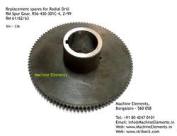 RM Spur Gear, R56-430-301C-4, Z=99