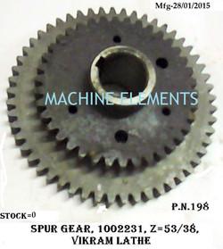 100 22 31 SPUR GEAR SET Z-53+38