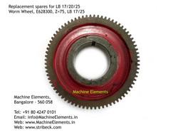 Worm Wheel  E628300, Z=75