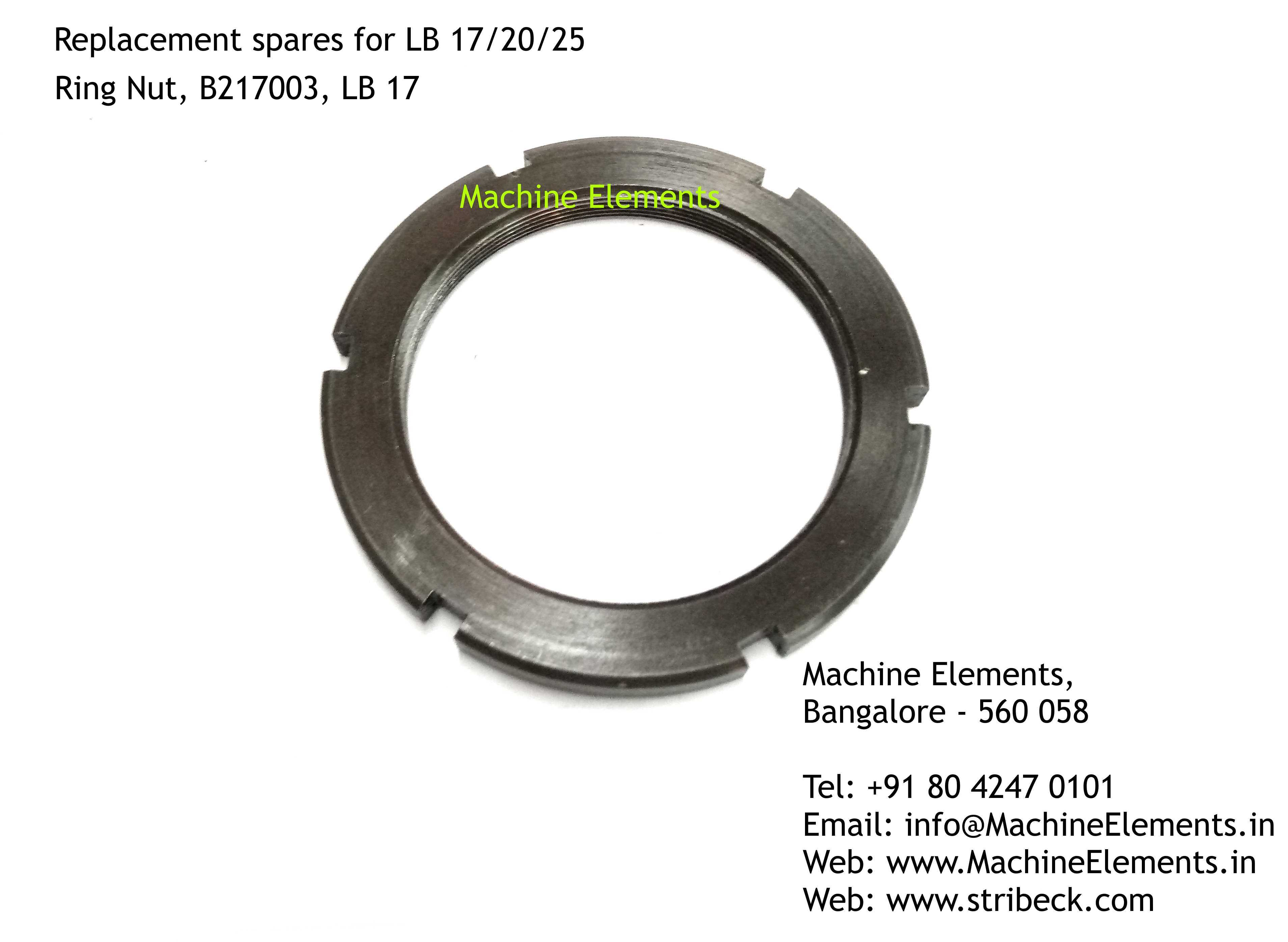 Ring Nut, B217003